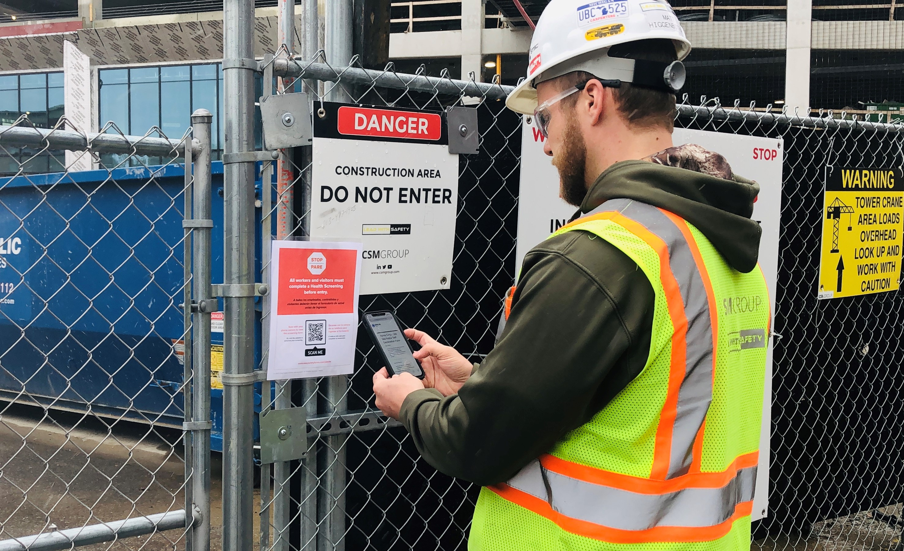 Health Screening Tool Adopted by Construction Industry