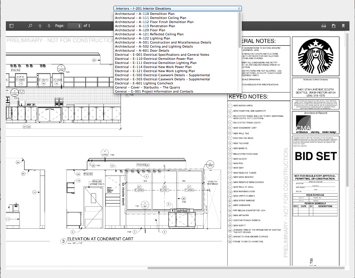 Example Document Viewer